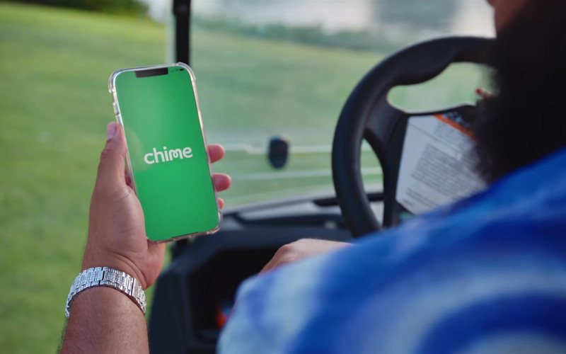 Chime Mobile Banking Services App in LET IT GO DJ Khaled feat. Justin Bieber & 21 Savage (2)