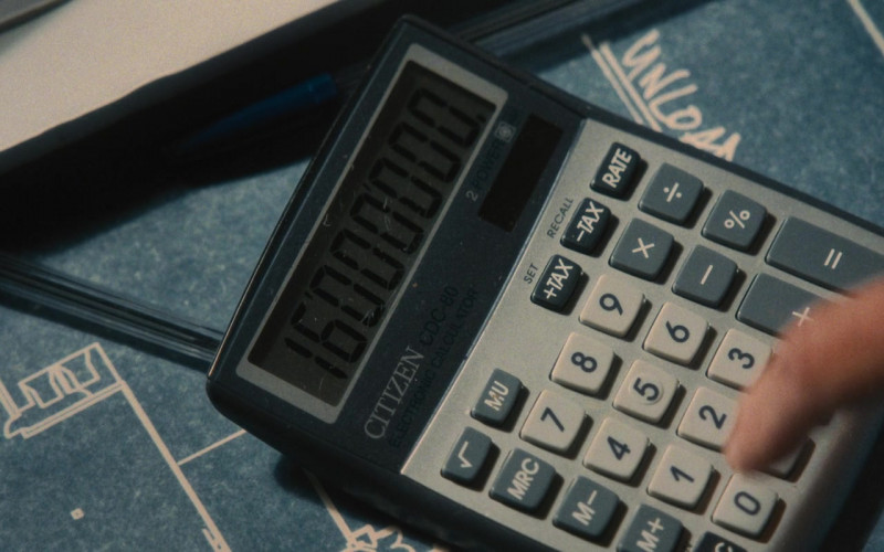 Citizen Calculator in Wrath of Man (2021)
