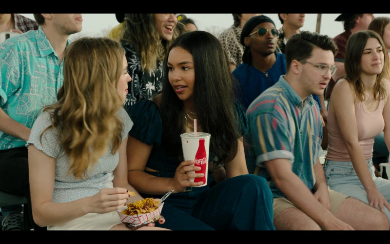 Coca-Cola Soda Enjoyed by Jessica Sula as Natalie Williams in Panic S01E06 (1)