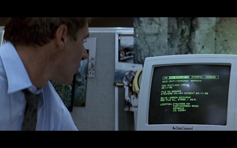 Data General Monitor in Patriot Games (1992)
