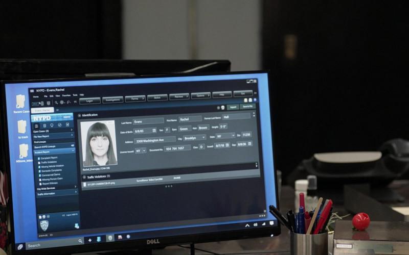 Dell Computer Monitor in Manifest S03E08 Destination Unknown (2021)