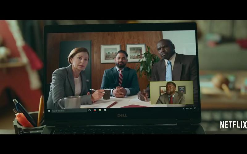 Dell Laptop of Kevin Hart as Matthew Logelin in Fatherhood (2)
