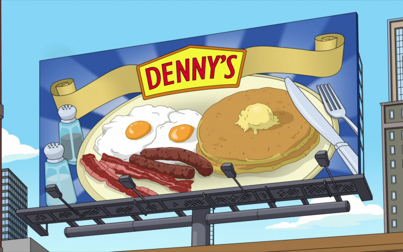 Denny's Restaurant in Family Guy S19E20 Tales of Former Sports Glory (2021)