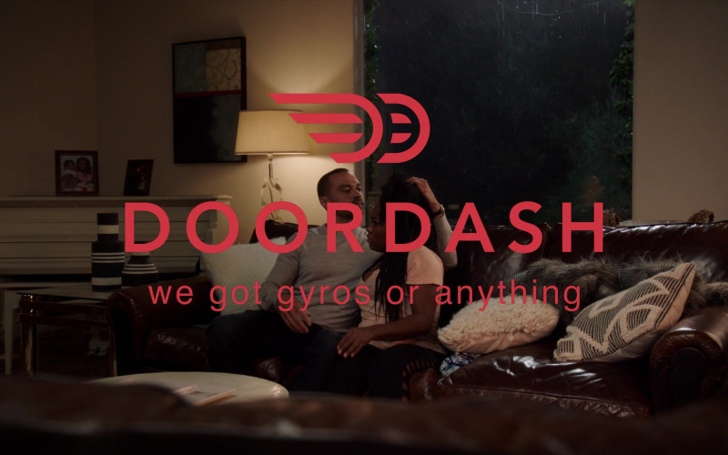 DoorDash Online food ordering company in A Black Lady Sketch Show S02E03