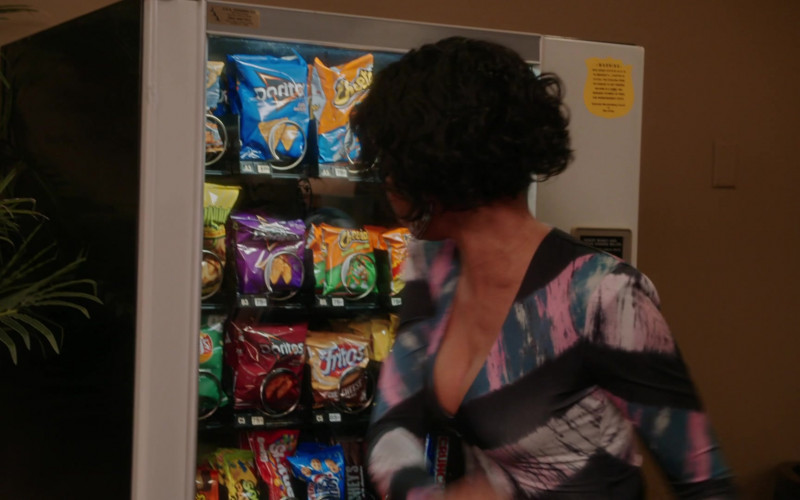 Doritos, Cheetos, Fritos, Skittles, Chips Ahoy!, Hershey's in Girls5eva S01E07 A.I.R.P.I.G. (2021)
