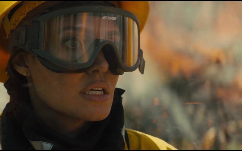 ESS Eye Pro Goggles of Angelina Jolie as Hannah Faber in Those Who Wish Me Dead (2021)