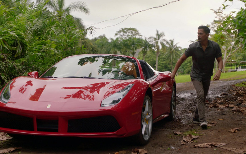Ferrari 488 Spider Car in Magnum P.I. S03E16 Bloodline (2021)