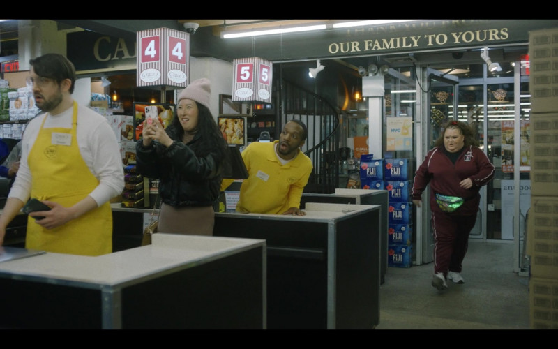 Fiji Water in That Damn Michael Che S01E06 Only Built 4 Leather Suits (2021)