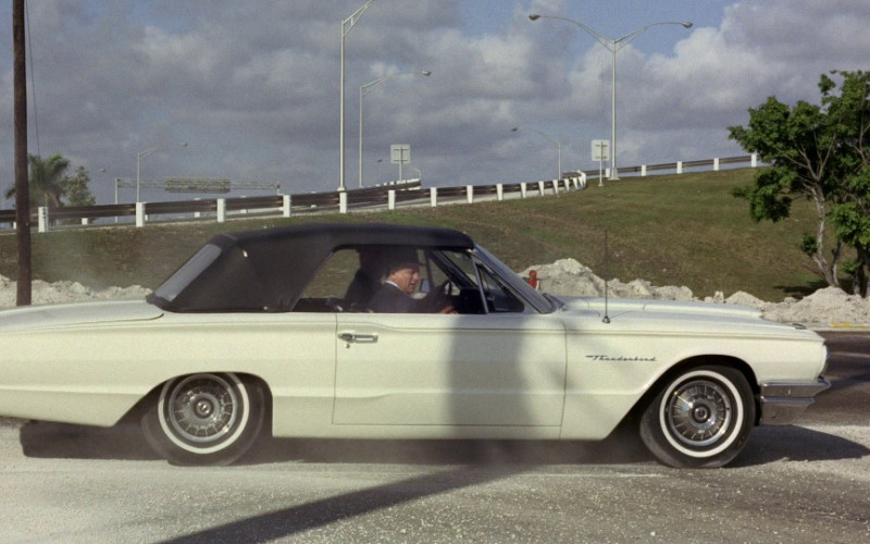 Ford Thunderbird Car in Goldfinger 1964 Movie (1)