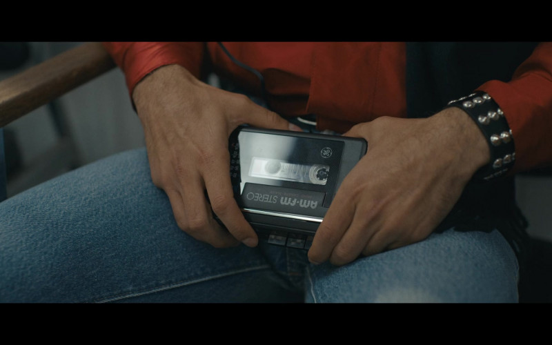 GE Portable Cassette Player in Halston E04 The Party's Over (2021)