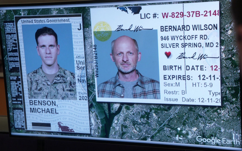 Google Earth Software in NCIS S18E13 Misconduct (2021)