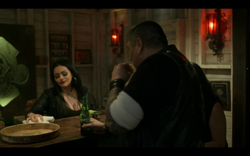 Heineken Beer in Mayans M.C. S03E09 The House of Death Floats By (2021)