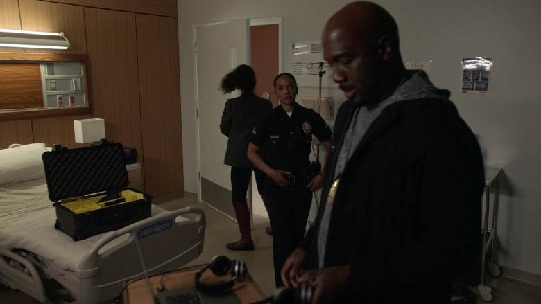 Hill-Rom Medical Bed in The Rookie S03E12 Brave Heart (2021)