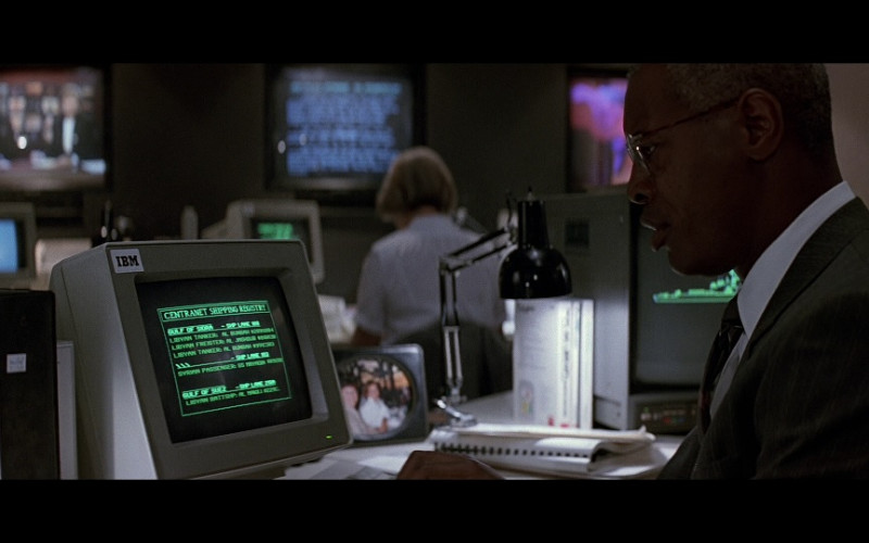 IBM Computer Monitor in Patriot Games (1992)