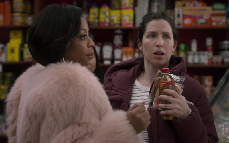 Iberia Aloe Vera Strawberry Juice Drink in Run the World S01E01 Phenomenal Women (2021)