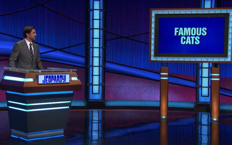 Jeopardy! Television Game Show in The Conners S03E19 Jeopardé, Sobrieté, and Infidelité (2021)