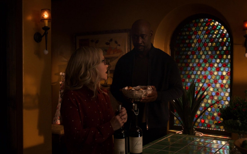 Josh Cellars Wine in Lucifer S05E09 Family Dinner – TV Show 2021 (1)
