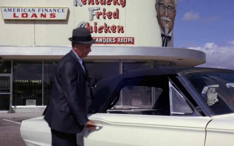 Kentucky Fried Chicken (KFC) Restaurant in Goldfinger (1964)