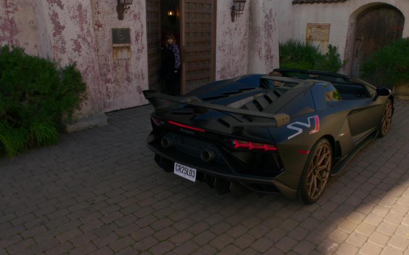 Lamborghini Aventador Sports Car in NCIS Los Angeles S12E18 TV Series (1)