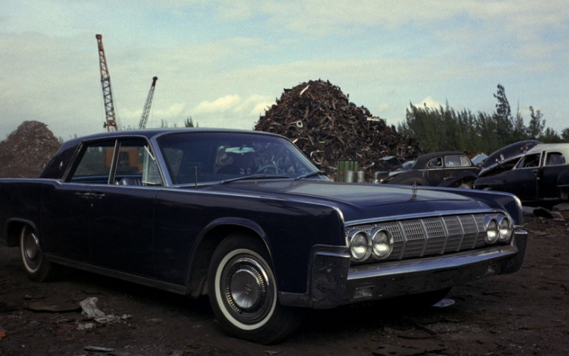 Lincoln Continental Car in Goldfinger (1964)
