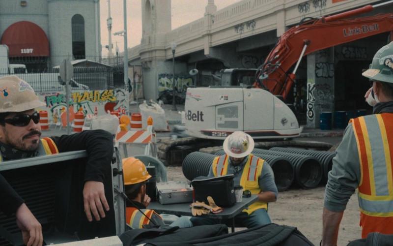 Link-Belt LBX Excavator in Wrath of Man (2021)