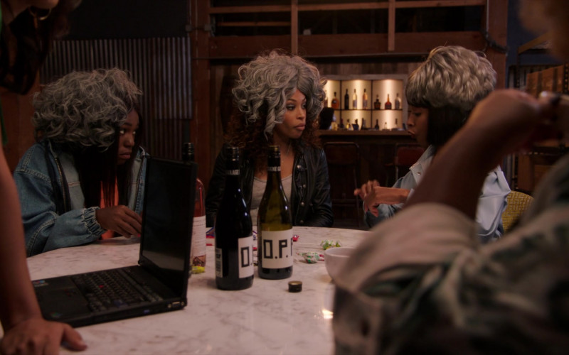 Maison Noir O.P.P. (Other People's Pinot) Wine in A Black Lady Sketch Show S02E03 (3)