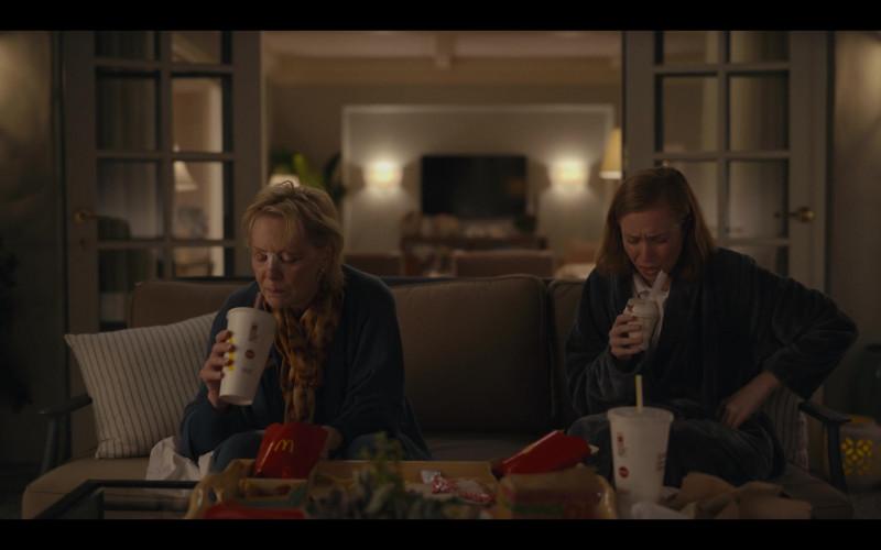McDonald's Restaurant Fast Food Enjoyed by Jean Smart as Deborah Vance and Hannah Einbinder as Ava in Hacks