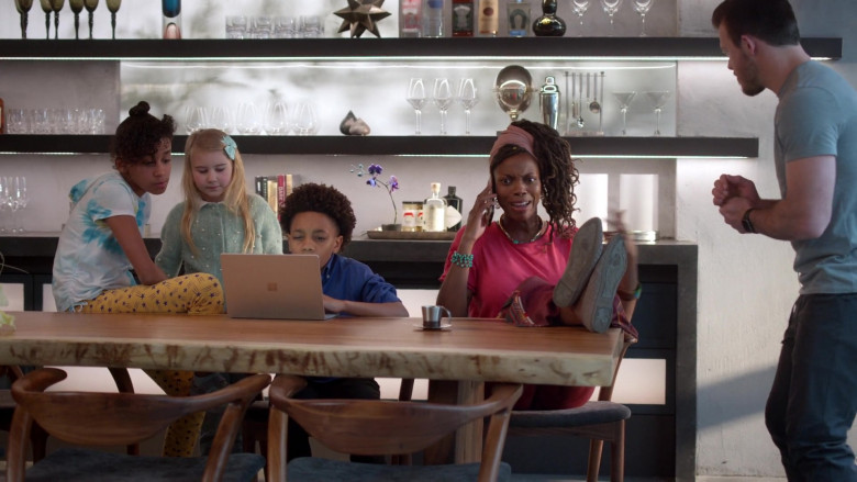 Microsoft Surface Laptop Used by JeCobi Swain as Kelvin in Home Economics S01E05 TV Show 2021 (1)