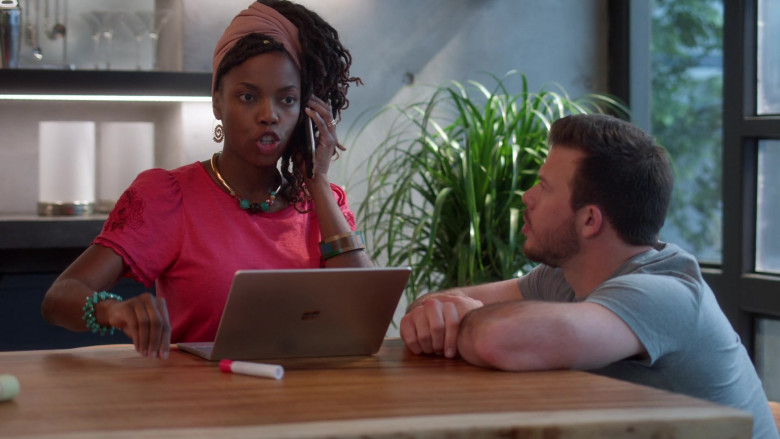 Microsoft Surface Laptop Used by Sasheer Zamata as Denise in Home Economics S01E05 (2)