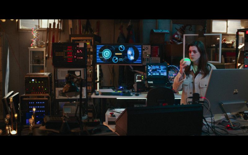 Microsoft Surface Studio Computer Used by Anne Hathaway as Leah in Solos S01E01 LEAH (3)