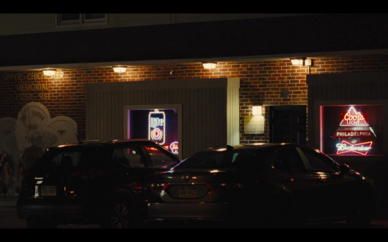 Miller Lite, Pabst, Coors Light and Budweiser Neon Signs in Mare of Easttown S01E03 Enter Number Two (2021)