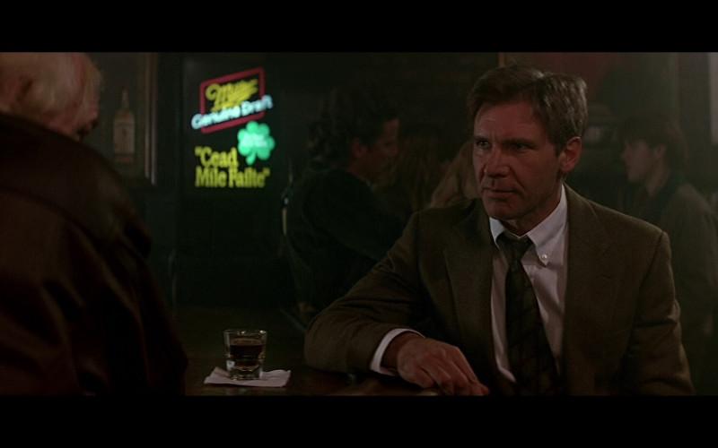 Miller Neon Sign in Patriot Games (1992)