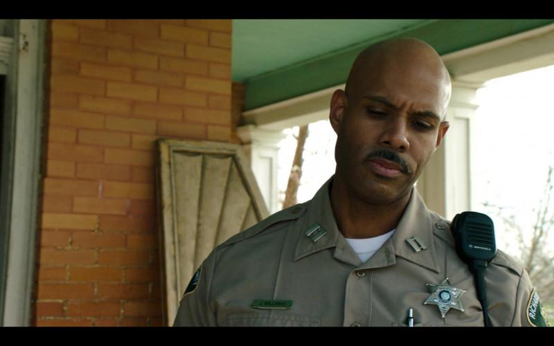 Motorola Radio of Todd Williams as Capt. John Williams in Panic S01E05 Phantoms (2021)