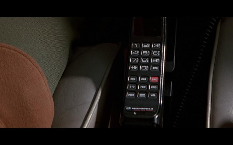 Motorola car phone in Patriot Games (1992)