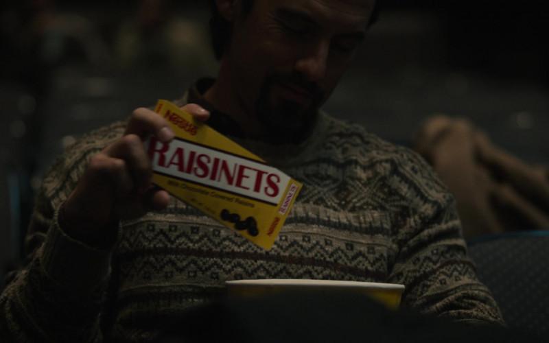 Nestle Raisinets Milk Chocolate-Covered Raisin in This Is Us S05E15 Jerry 2.0 (2021)