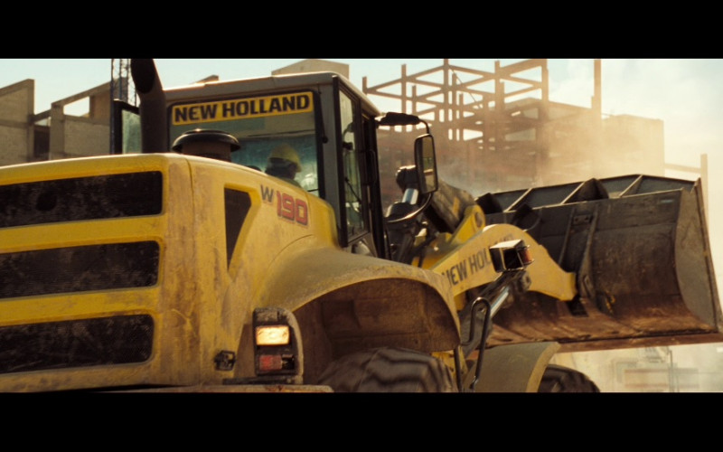 New Holland W 190 Wheel Loaders in Casino Royale (2006)