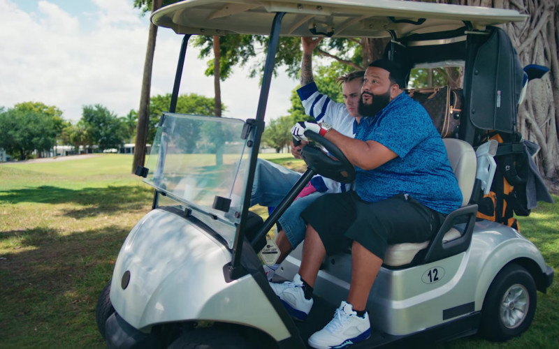 Nike Air Jordan 5 Sneakers of DJ Khaled in LET IT GO by DJ Khaled (2)