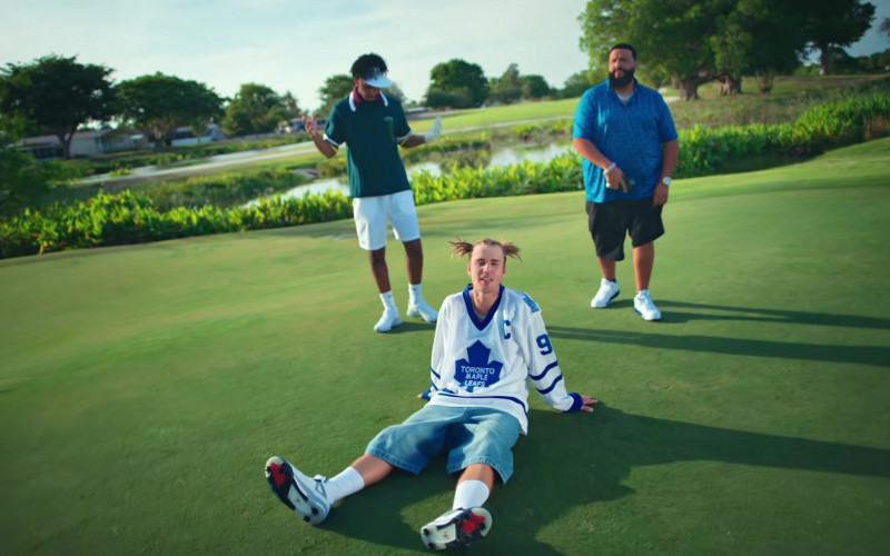 Nike Jordan Sneakers of Justin Bieber in LET IT GO (2)