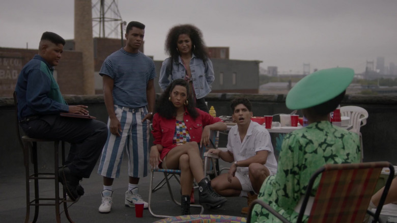 Nike Men's High Top Sneakers in Pose S03E02 TV Show 2021 (1)