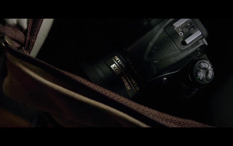 Nikon Camera in The Woman in the Window (2021)