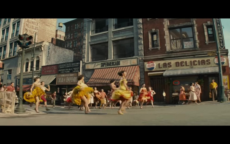 Pepsi Cola Signs in West Side Story (2021)