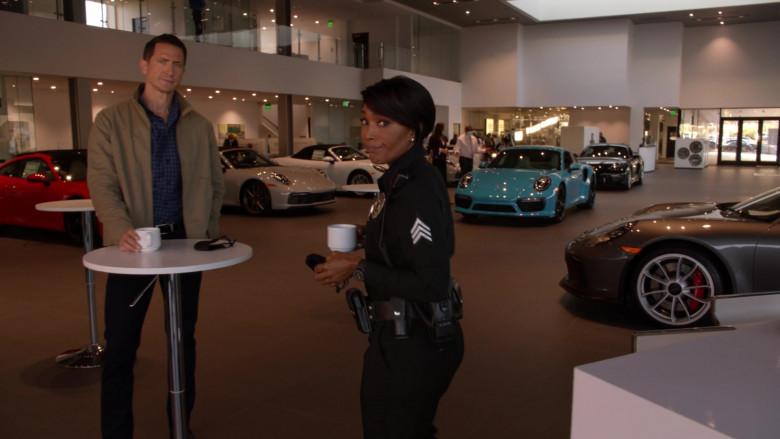 Porsche Car Dealership in 9-1-1 S04E11 First Responders (2021)