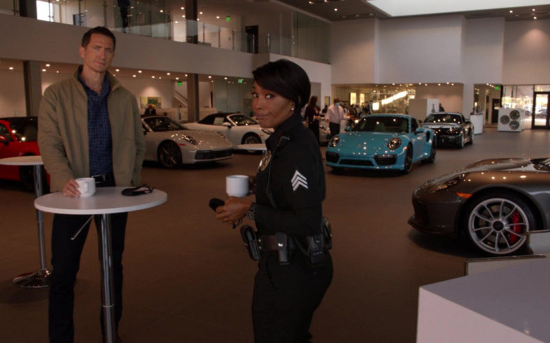 Porsche Car Dealership in 9-1-1 S04E11 First Responders (2021)