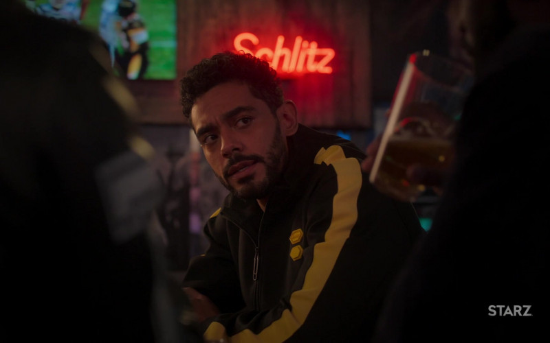 Schlitz Beer Neon Sign in Run The World S01E03 What a Co-inky-d… (2021)