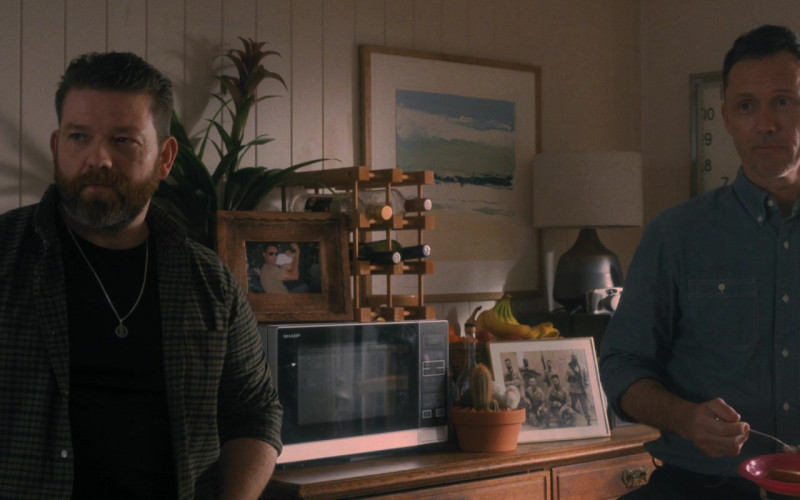 Sharp Microwave Oven in Wrath of Man (2021)
