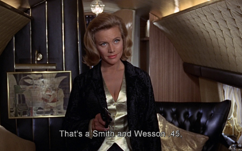 Smith & Wesson in Goldfinger (1964)