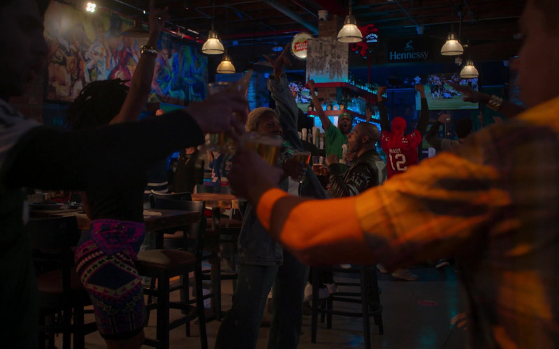 Stella Artois, Fireball Cinnamon Whisky and Hennessy Signs in Run The World S01E03 What a Co-inky-d… (2021)