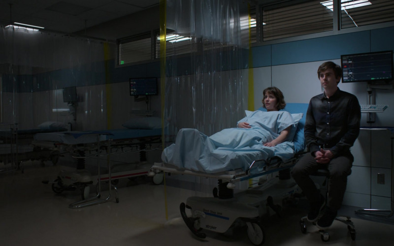 Stryker Medical Bed in The Good Doctor S04E16 Dr. Ted (2021)