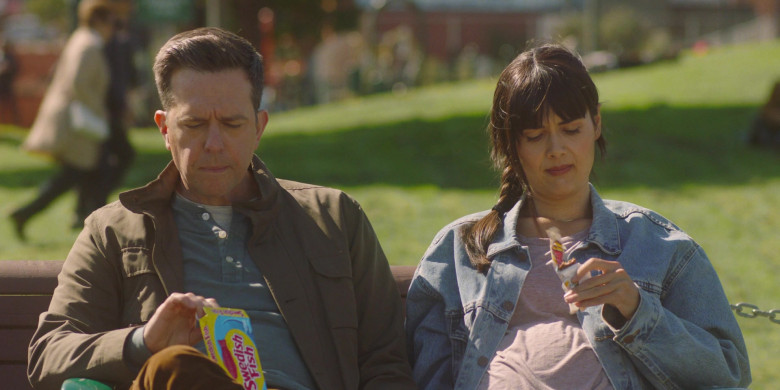 Swedish Fish Soft & Chewy Candy Enjoyed by Ed Helms as Matt in Together Together (2021)