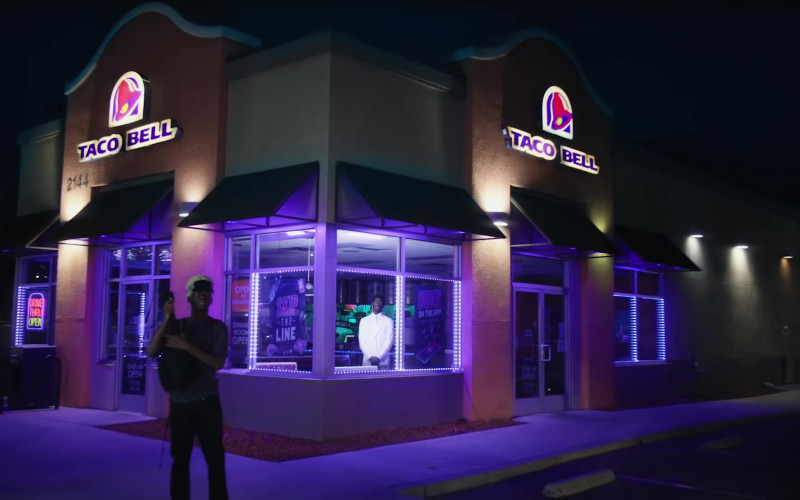 Taco Bell Restaurant in Sun Goes Down by Lil Nas X (2021)